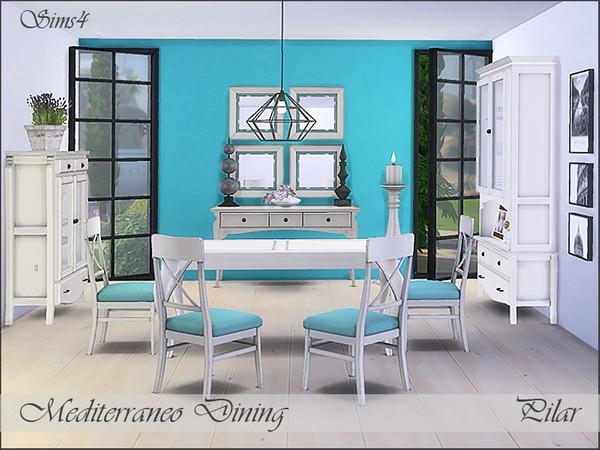 Mediterraneo Dining by Pilar at TSR image 6814 Sims 4 Updates