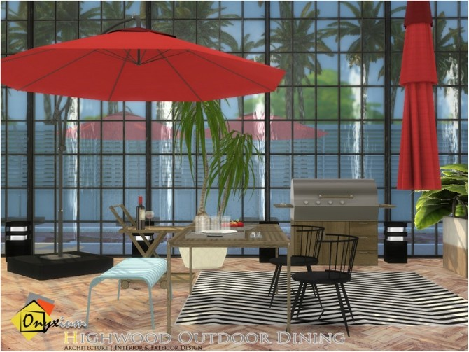 Highwood Outdoor Dining by Onyxium at TSR image 6819 670x503 Sims 4 Updates