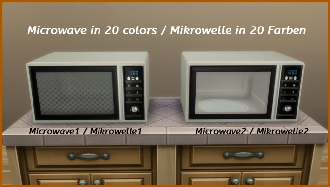Modern microwave by hippy70 at Mod The Sims image 682 670x381 Sims 4 Updates