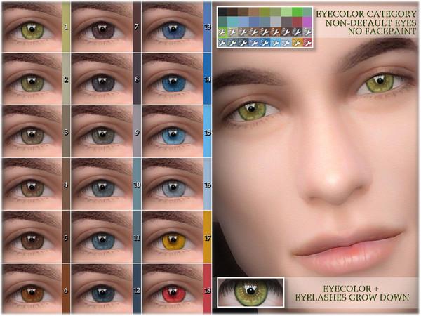 Sims 4 Eye colors 08 NON DEFAULT by BAkalia at TSR