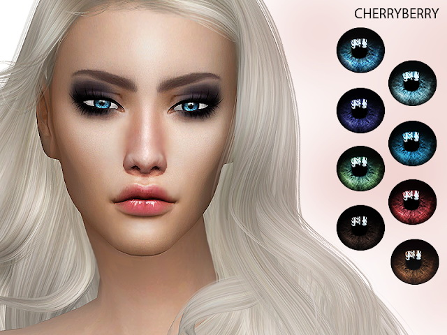 Sims 4 Mesmerize Eyes HQ at Cherryberry