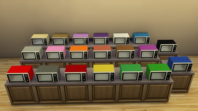 Modern microwave by hippy70 at Mod The Sims image 692 670x377 Sims 4 Updates