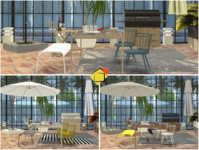 Highwood Outdoor Dining by Onyxium at TSR image 6921 670x503 Sims 4 Updates