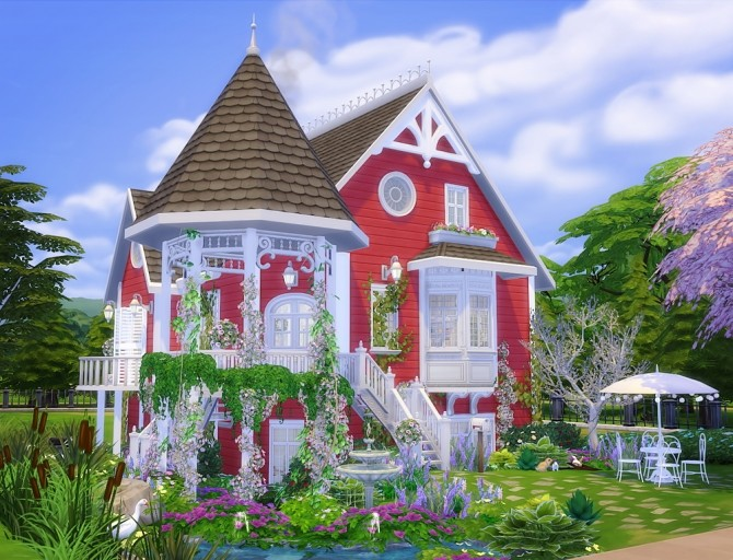 Shabby Chic Cottage at Vicky SweetBunny image 7012 670x512 Sims 4 Updates