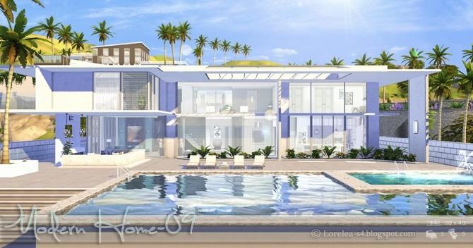 Modern Home 09 at Lorelea image 7015 670x352 Sims 4 Updates