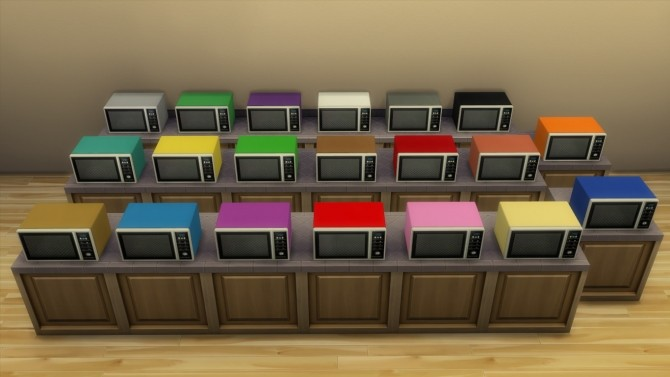 Modern microwave by hippy70 at Mod The Sims image 702 670x377 Sims 4 Updates