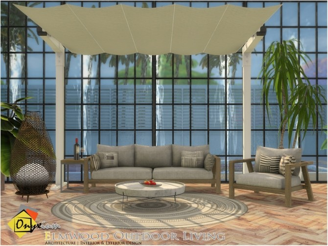 Elmwood Outdoor Living by Onyxium at TSR image 7020 670x503 Sims 4 Updates