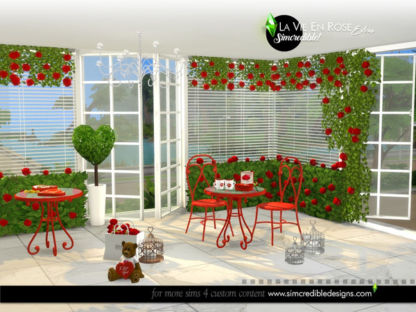 La vie en rose extras by SIMcredible at TSR image 7114 Sims 4 Updates