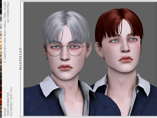 Tempo Hair for males by magpiesan at TSR image 7117 Sims 4 Updates