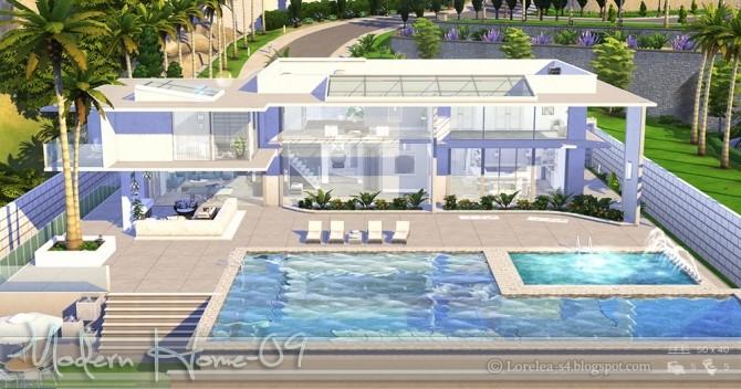 Modern Home 09 at Lorelea image 7118 670x352 Sims 4 Updates