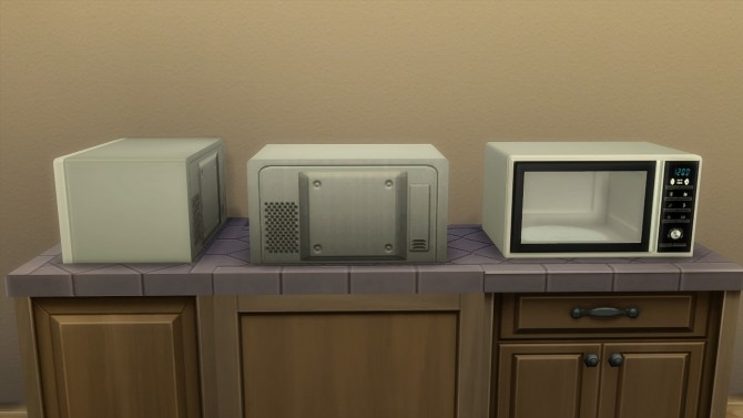 Modern microwave by hippy70 at Mod The Sims image 712 670x377 Sims 4 Updates