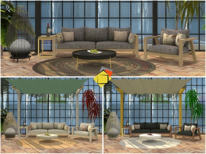 Elmwood Outdoor Living by Onyxium at TSR image 7123 670x503 Sims 4 Updates