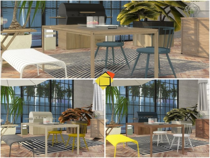 Highwood Outdoor Dining by Onyxium at TSR image 7124 670x503 Sims 4 Updates
