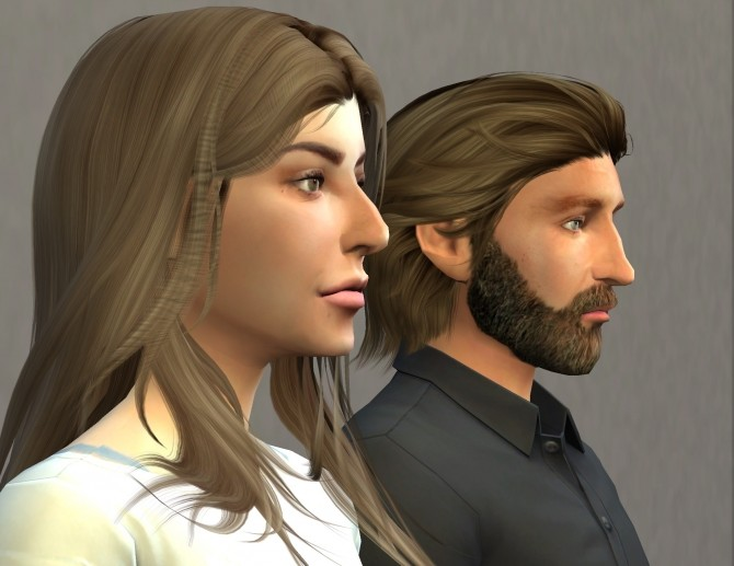 Sims 4 Ally & Jackson Maine by Golden Silver at Mod The Sims