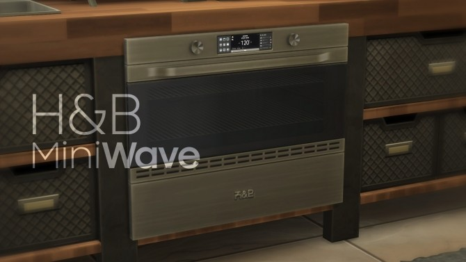 H&B MiniWave Counter Slot Oven by littledica at Mod The Sims image 718 670x377 Sims 4 Updates
