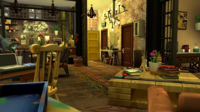 17 rue Dupiment industrial apartment by chipie cyrano at L'UniverSims image 7217 670x377 Sims 4 Updates
