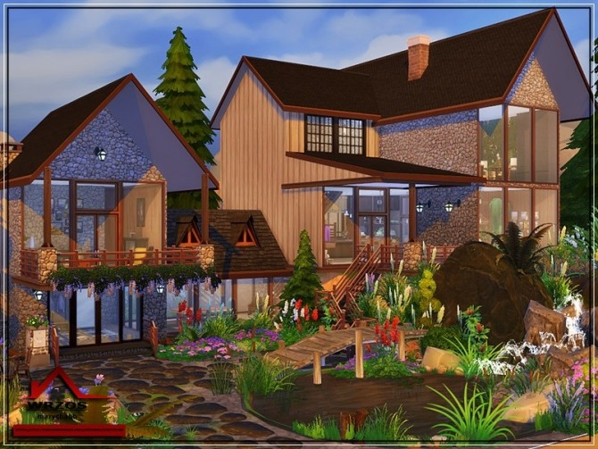 Wrzos traditional house No CC by marychabb at TSR image 7218 670x503 Sims 4 Updates
