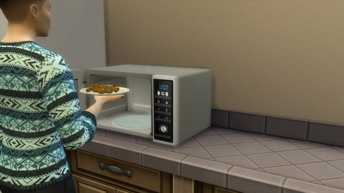 Modern microwave by hippy70 at Mod The Sims image 722 670x377 Sims 4 Updates