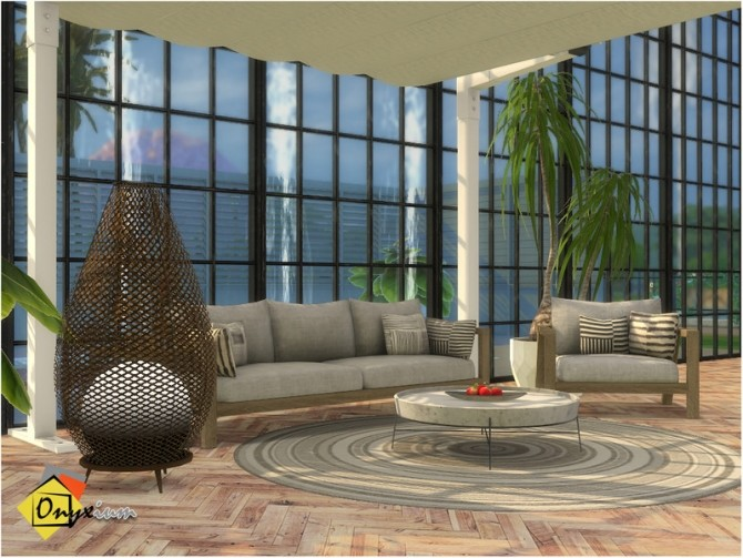 Sims 4 Elmwood Outdoor Living by Onyxium at TSR