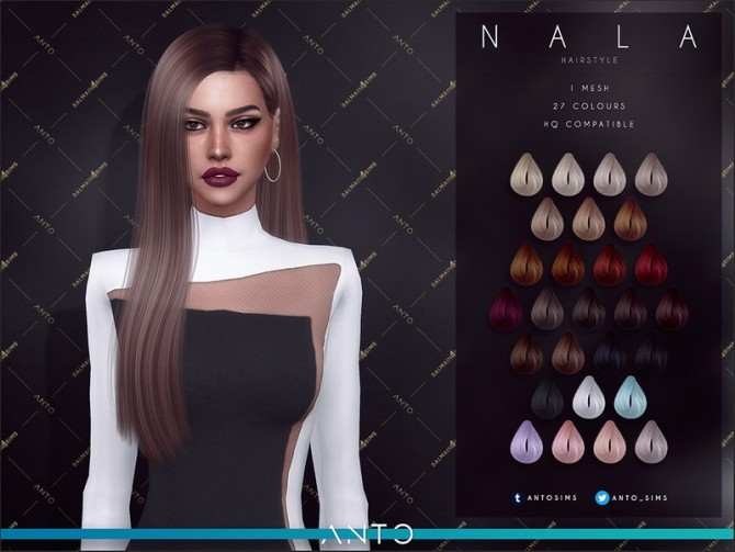 Nala Hairstyle by Anto at TSR image 7222 670x503 Sims 4 Updates