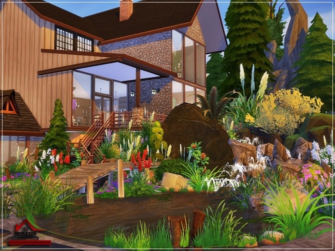Wrzos traditional house No CC by marychabb at TSR image 7316 670x503 Sims 4 Updates