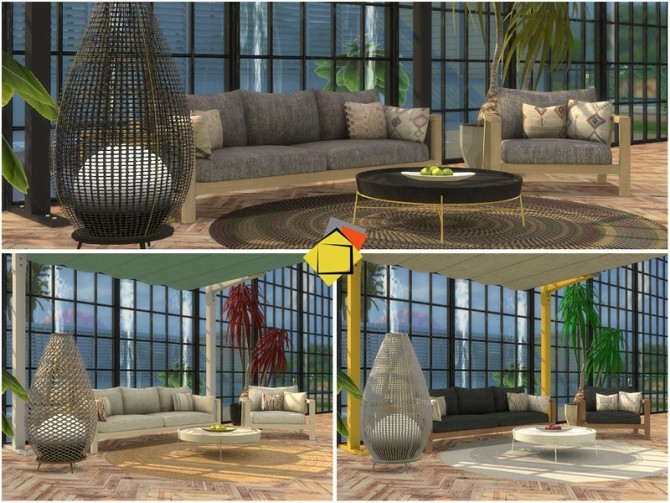 Elmwood Outdoor Living by Onyxium at TSR image 7319 670x503 Sims 4 Updates