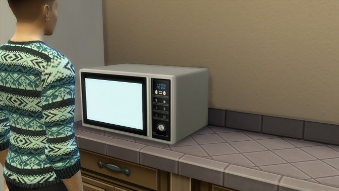Modern microwave by hippy70 at Mod The Sims image 732 670x377 Sims 4 Updates