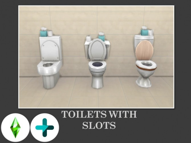Toilets With Slots by Teknikah at Mod The Sims image 74 670x503 Sims 4 Updates