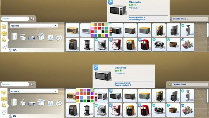 Modern microwave by hippy70 at Mod The Sims image 742 670x377 Sims 4 Updates
