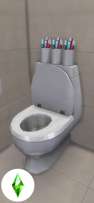Toilets With Slots by Teknikah at Mod The Sims image 75 Sims 4 Updates