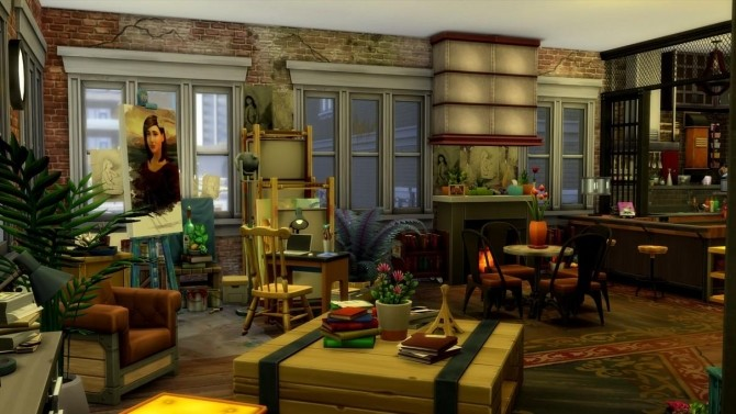 17 rue Dupiment industrial apartment by chipie cyrano at L'UniverSims image 7514 670x377 Sims 4 Updates