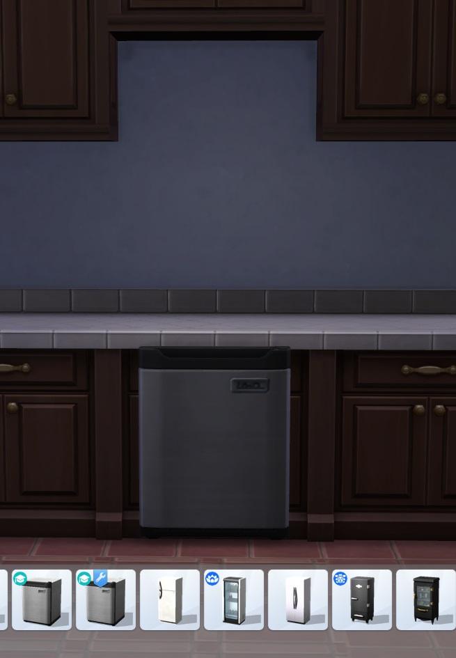 Under counter mini fridge by blueshreveport at Mod The Sims image 752 Sims 4 Updates