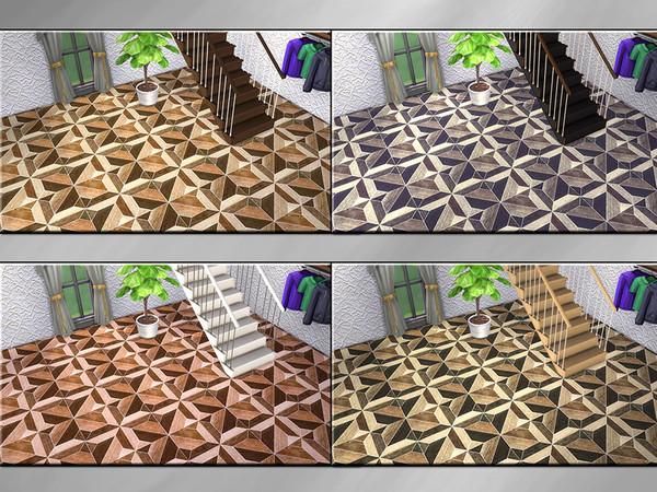 Sims 4 MB Warm Wood Intarsia Noble by matomibotaki at TSR