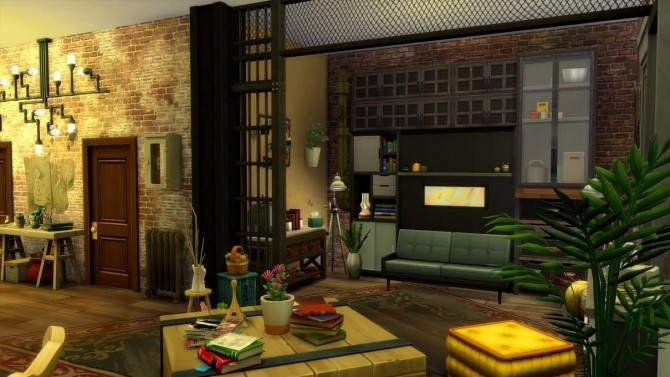 17 rue Dupiment industrial apartment by chipie cyrano at L'UniverSims image 7616 670x377 Sims 4 Updates