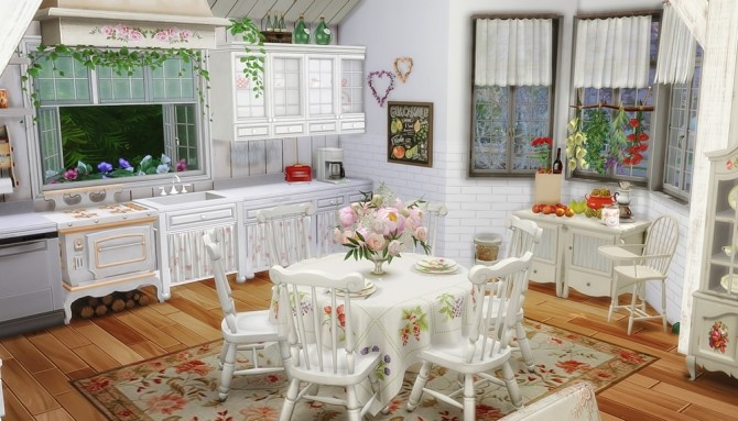 Shabby Chic Cottage at Vicky SweetBunny image 7712 670x383 Sims 4 Updates