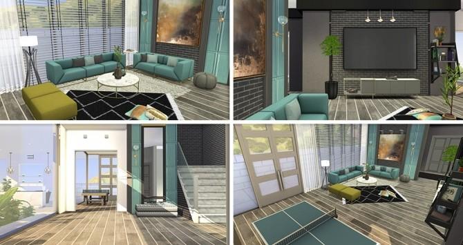 Sims 4 Modern Home 09 at Lorelea