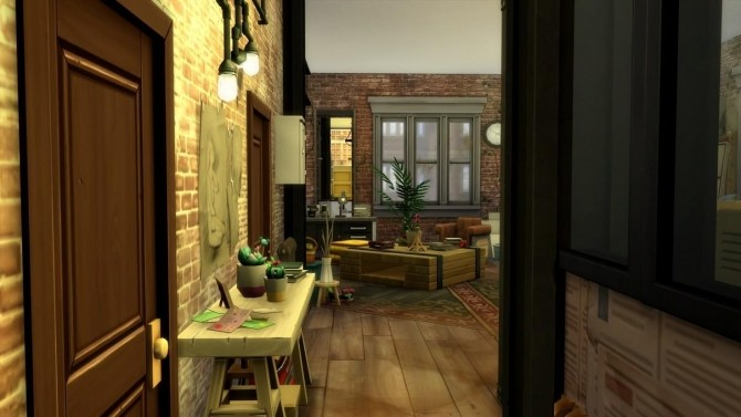17 rue Dupiment industrial apartment by chipie cyrano at L'UniverSims image 7716 670x377 Sims 4 Updates