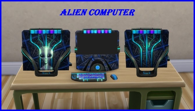 Alien Computer by hippy70 at Mod The Sims image 7721 670x381 Sims 4 Updates