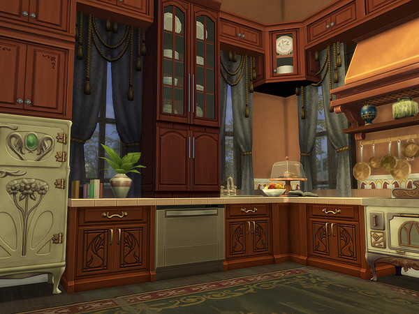 Sims 4 Wood Estate by Ineliz at TSR