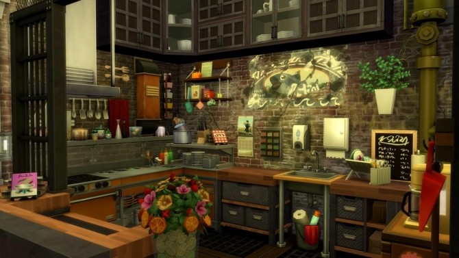 17 rue Dupiment industrial apartment by chipie cyrano at L'UniverSims image 7816 670x377 Sims 4 Updates