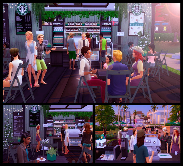Starbucks Truck at Lily Sims image 793 Sims 4 Updates
