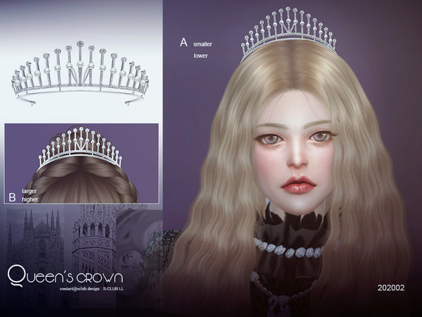 Crown 202002 by S Club LL at TSR image 796 Sims 4 Updates