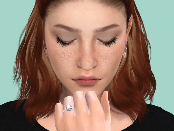 Wedding rings by PlayersWonderland at TSR image 8011 Sims 4 Updates