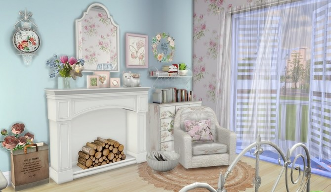 Shabby Chic Cottage at Vicky SweetBunny image 8012 670x388 Sims 4 Updates