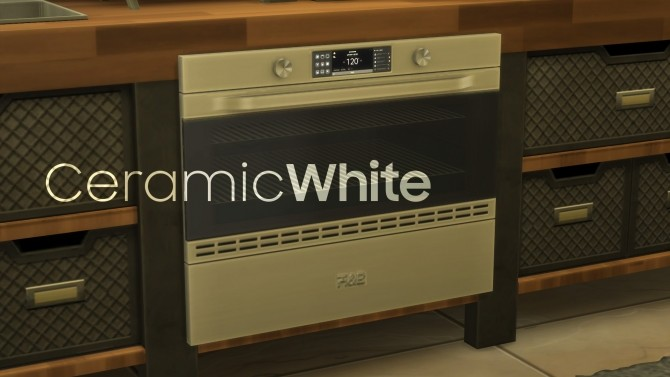 Sims 4 H&B MiniWave Counter Slot Oven by littledica at Mod The Sims