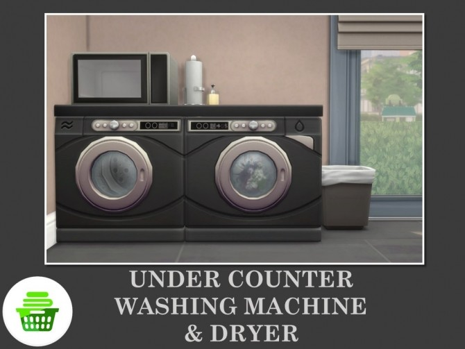 Under Counter Washing Machine & Dryer by Teknikah at Mod The Sims image 806 670x503 Sims 4 Updates