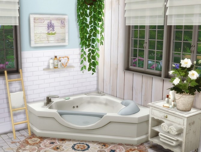 Shabby Chic Cottage at Vicky SweetBunny image 8116 670x507 Sims 4 Updates