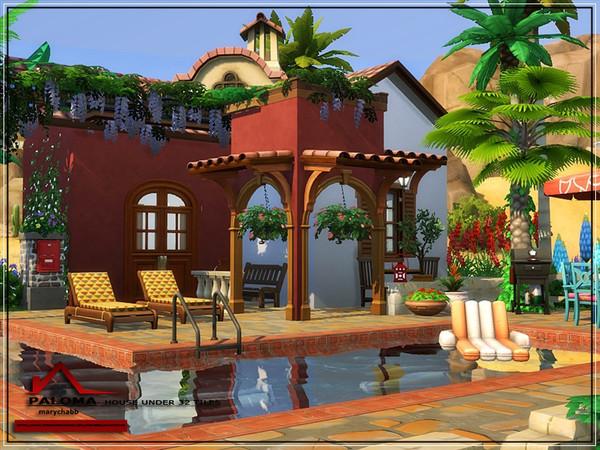 Paloma house No CC by marychabb at TSR image 8213 Sims 4 Updates