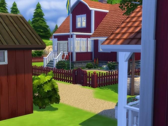 Sims 4 Katthult Swedish childhood paradise at KyriaT's Sims 4 World