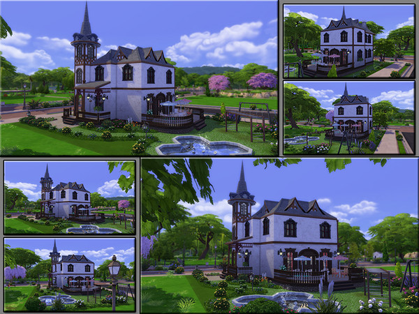 MB Cafe Belfry by matomibotaki at TSR image 830 Sims 4 Updates